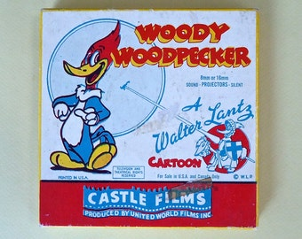 Film 8 MM Woody WoodPecker Complete Edition Bali Ho Castle Films 518