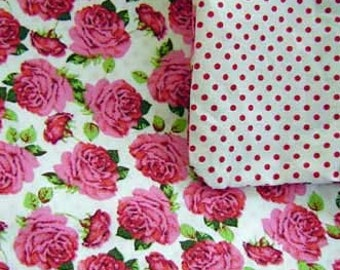 Children's bedding rose and points
