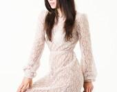 Nackte Lace Boho, Hochzeit, Sommer Maxi-Kleid