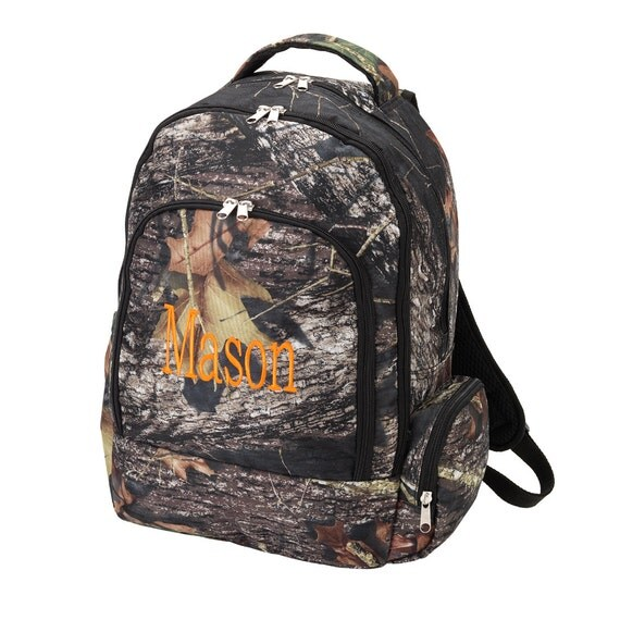 Large Boy S Personalized Camo Backpack