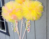SALE! Yellow and Lt. Pink wands
