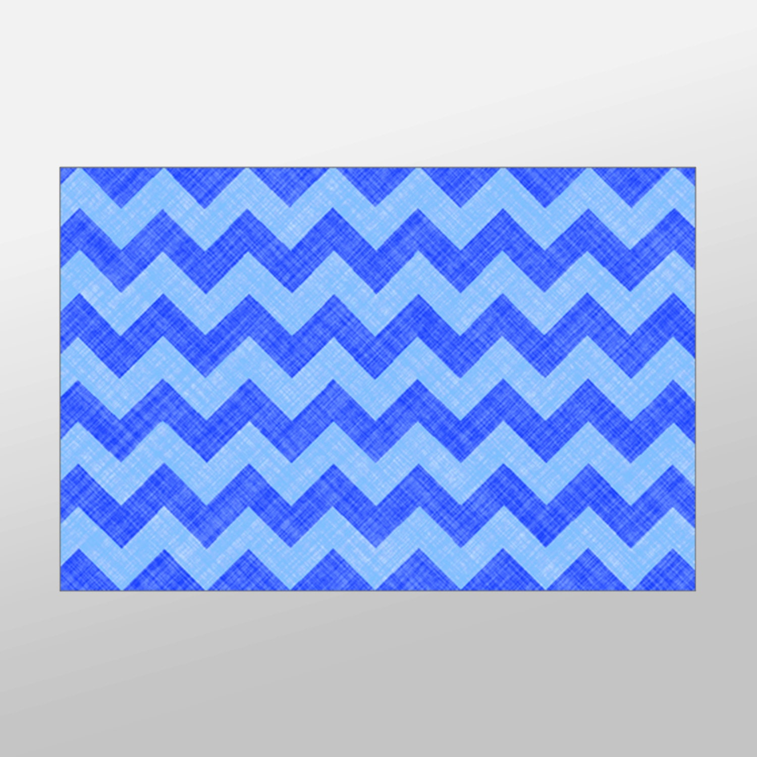 blue chevron canvas art print chevron pattern wall by