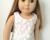 """American Girl 18"""" Doll Clothes Cinderella Collection Lace Overlay Tank"""