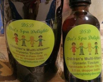 Children's Multi-Vitamin Glycerin Tincture