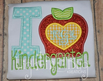 Back To School Personalized Kindergarten Shirt
