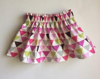 Pink Triangle Skirt 2T