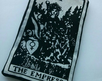The Empress Tarot Card Zippered Accessory Bag | Change Purse | Phone or iPod Holder | 3.5 x 5
