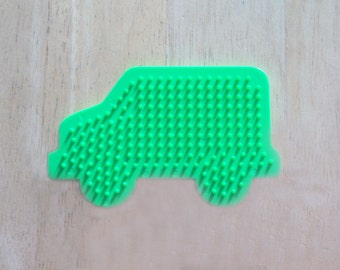Perler Bead Truck Pegboard, Ironing Paper, Instructions, Craft Supply, Church Crafts