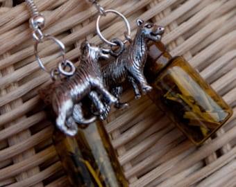 Vervain Wolf Earrings