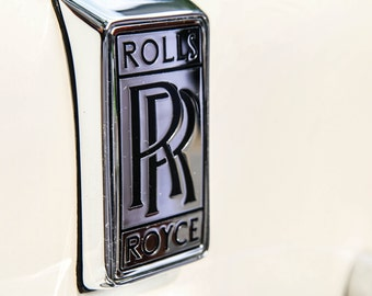 Rolls Royce, fine art Photography, Black and white, wall art, home décor, car photography, vintage, truck, auto, gift,print