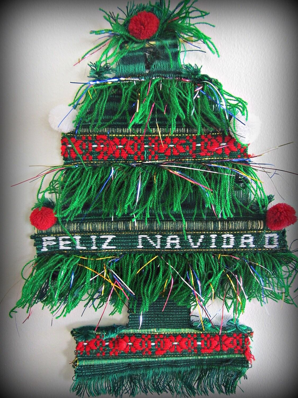 Wall Decor Christmas Tree : Guatemalan christmas tree wall decor