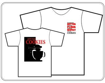 Let's Talk Cookies Mixer Tshirt