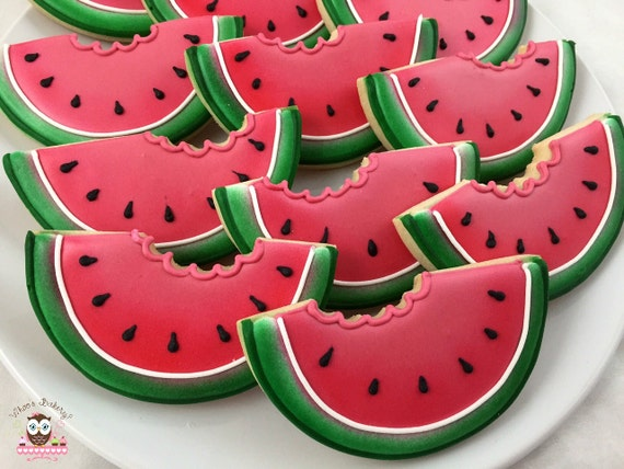 Image result for WATERMELON COOKIES