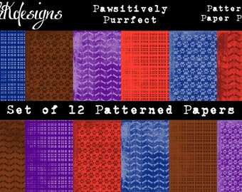 Pawsitively Purrfect Patterned Paper Pack
