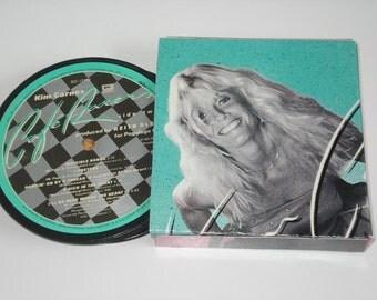 QUEENS of 80's ROCK Coasters vinyl record coaster set Debbie Harry Joan Jett