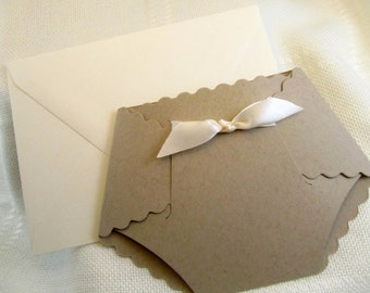 Rustic themed/Gender Neutral baby shower invitation