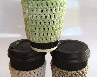 Pattern (pdf) Crochet Coffee Mug Cozy.