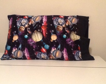 Galaxy Standard Size Pillow Case