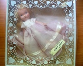 "Bisque 5.5"" Curly Locks Doll #209 Fairyland Series Nancy Ann Storybook Pink/white Dress O/O Original Box"