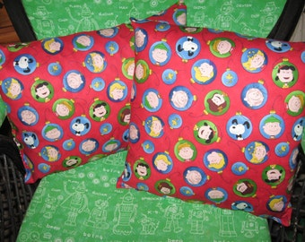 Snoopy Pillow And Throw Set : Charlie brown pillow Etsy