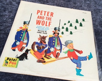 Peter and the Wolf vinyl