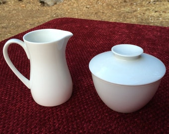 Noritake cream and sugar set