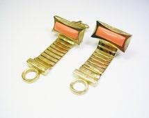 DANTE Cufflinks / Mesh Wrap / MASSIVE / Shirt Accessory / Suit Wear / Men Wedding Jewelry / Groom Best Man / Formal Wear / Cuff Links