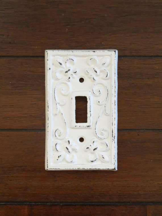 Light Switch Plate Light Plate Cover Cast Iron Switchplate