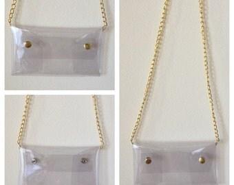 Clear bag no logo- RUSH