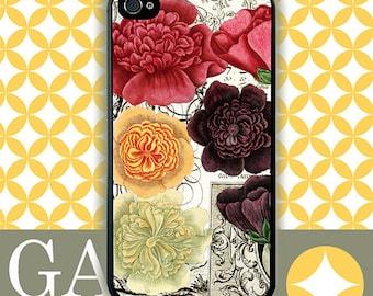 iPhone 6 Case, iPhone 6 Plus Case, iPhone 6 Edge Case, iPhone 5 Case, Galaxy S6 Case, Galaxy S5 Case, Galaxy Note 5 Case - Roses 1700's