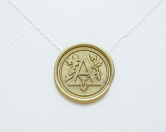 A Letter Wax Seal