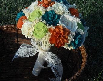 Wedding bouquet, Alternative bouquet  Sola bouquet, keepsake bouquet, bridal bouquet