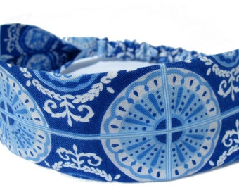 Blue Headband for Ladies, Women by Sheylily