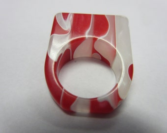 Vintage Lucite Ring