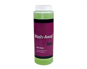 Hotline Wash Away Kiln Wash Residue Remover 8 oz Glass Fusing Supplies