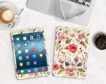 Morning Floral Medley Vinyl Skin for the iPad Air 2, iPad mini , Kindle All Models , Surface Pro and RT