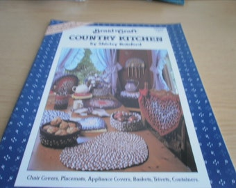 Country Kitchen Accessories Instruction Booklet