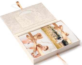 Photo Box Wedding for photos 5x7""
