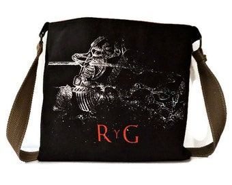 Rodrigo Y Gabriela Bag • Upcycled T-shirt Purse • Crossbody Bag • Concert Tee Bag • Rodrigo Y Gabriela Tshirt Bag