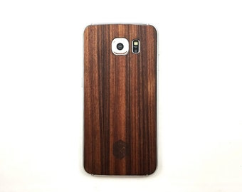 TIMBER Samsung S6 Natural Wood Skin Back – Free Shipping United States Orders