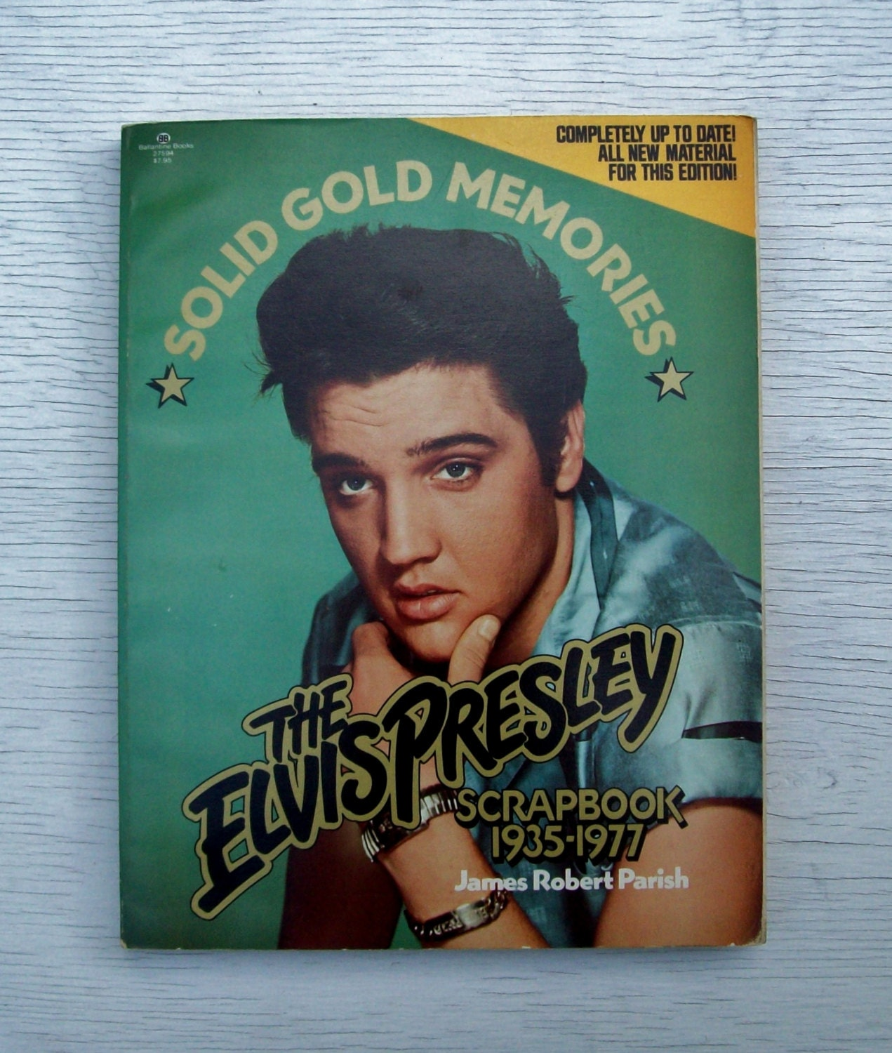 Vintage 1977 Elvis What Happened? Softcover Book 1st Edition/Fourth Print