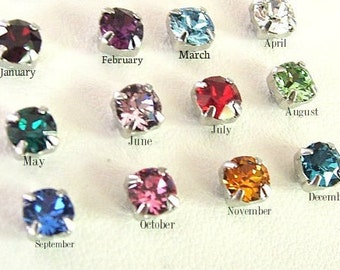 Extra Stones for Wire Wrapped Birthstone Bracelet