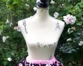 Alice in Wonderland Skirt. Kokka Alice in Wonderland fabric Skirt. Sweet Lolita Skirt. Lolita Skirt. Alice in wonderland.