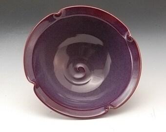 Handmade Pottery Bowl Lavender  Purple Porcelain by Mark Hudak