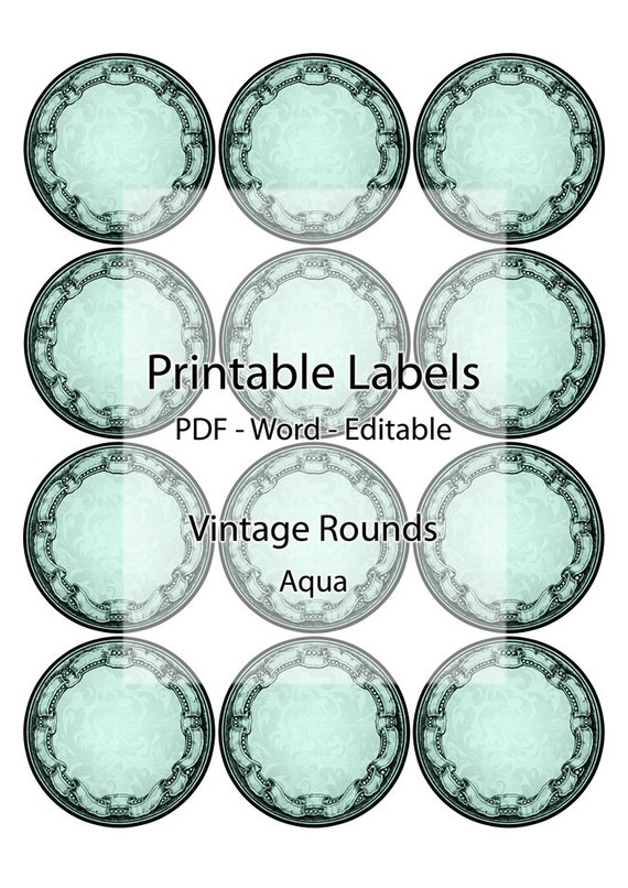 Exceptional image in round stickers printable