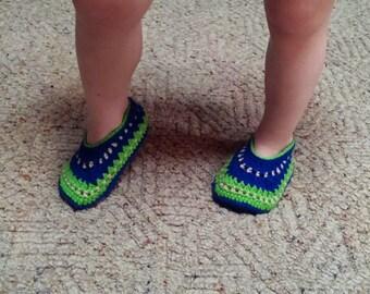 Crochet Galilee Slippers