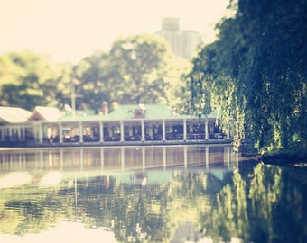 New York city photography new york city decor central park photograph large wall art loeb boathouse  romantic art lake print nyc decor