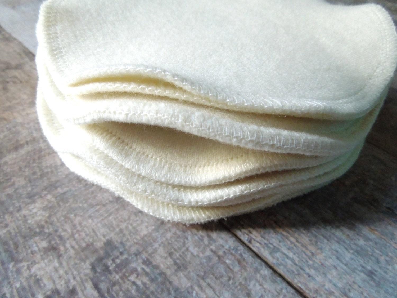 organic wool nursing pad set