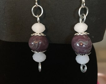 Handmade Ceramic Beads Earrings