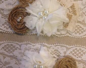 Rustic Wedding Garter, garter set, burlap garter, garter, garters, bridal garter